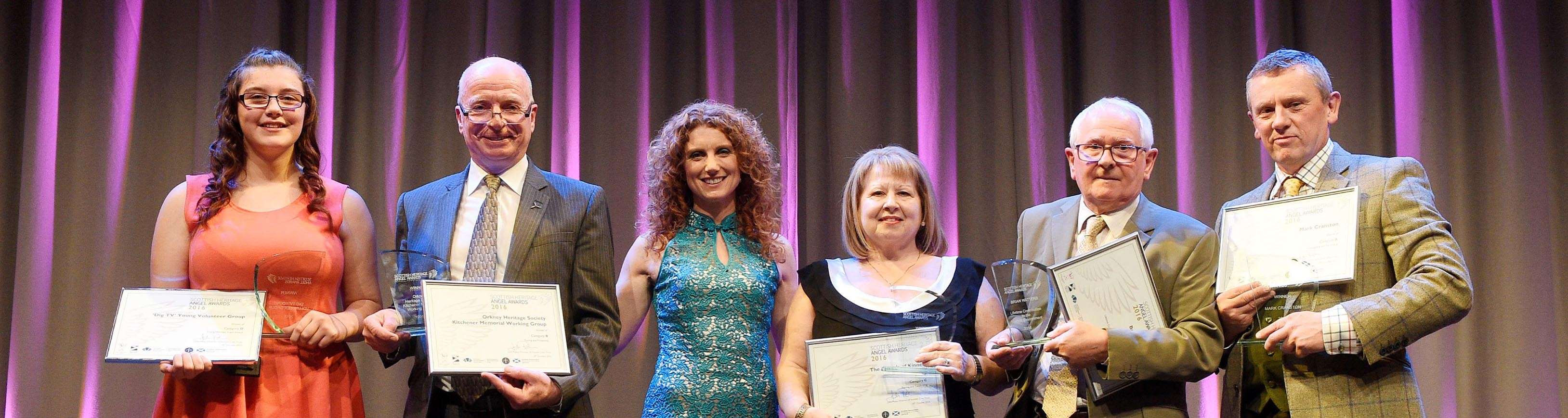 scottish heritage angel awards