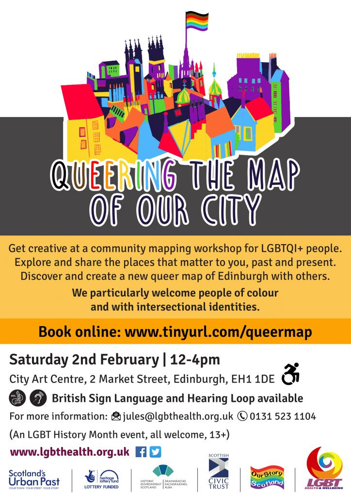 Queering the Map of Our City Poster